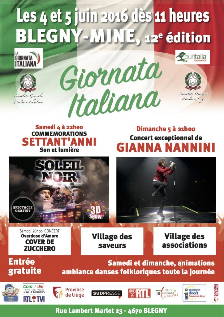 Displays Giornata italiana