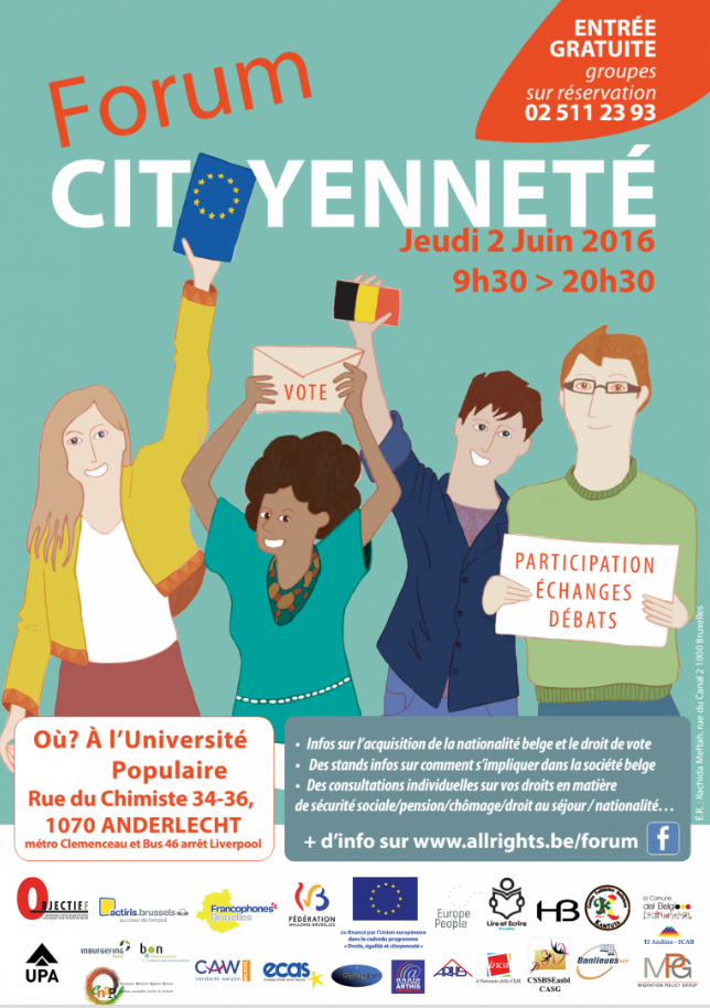 forum-citoyenneté-Bruxelles-anderlecht-europe