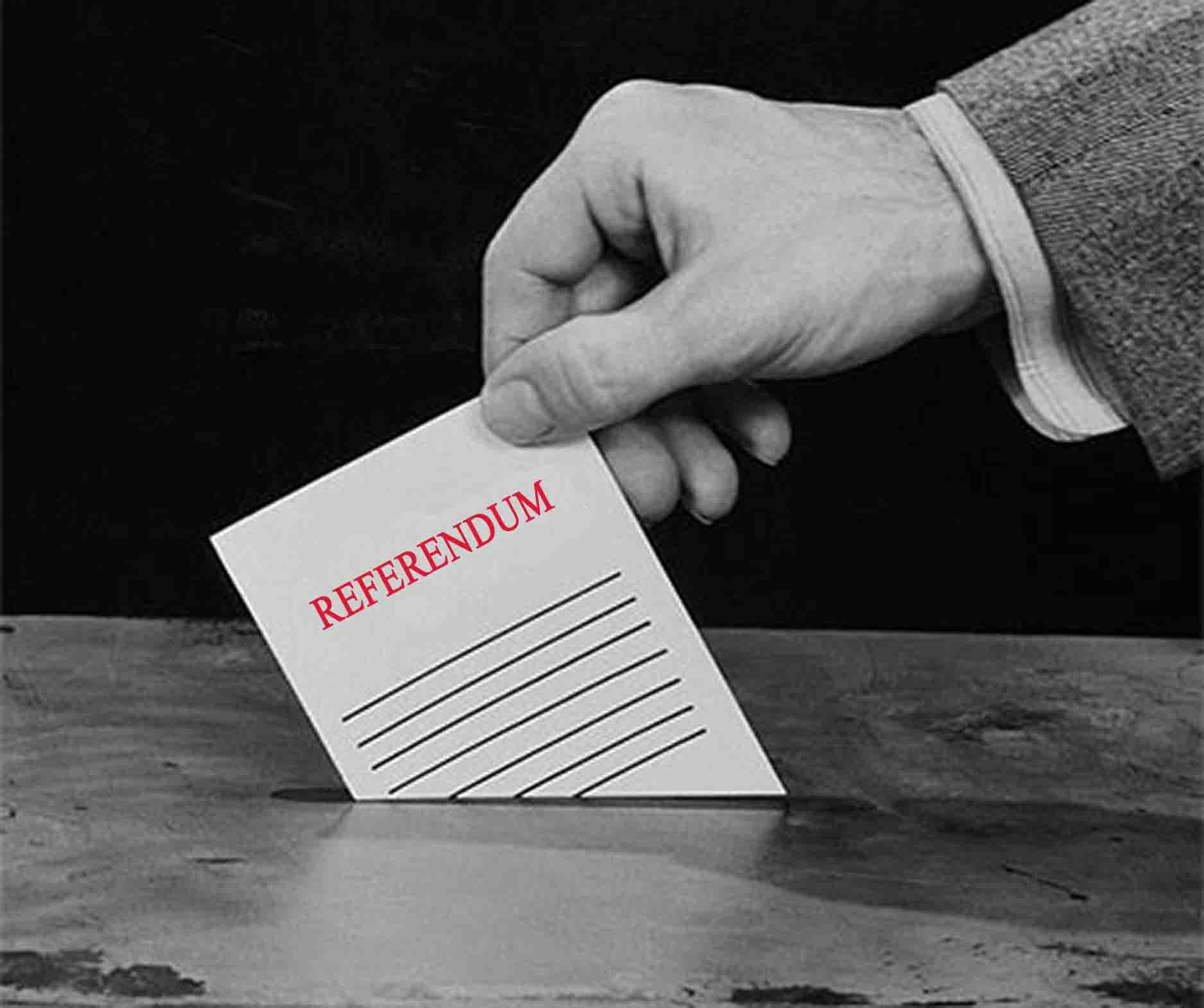 Comunicato informativo Referendum