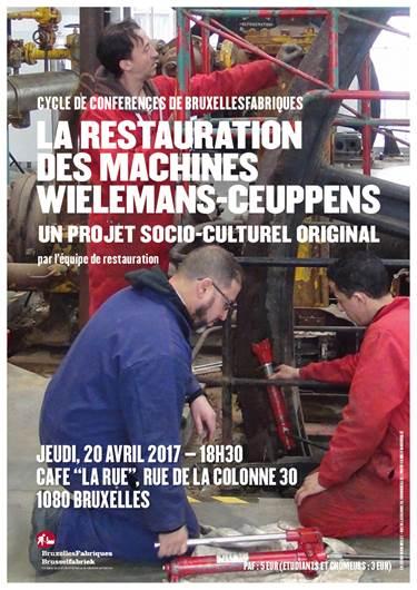 Conferenza: « La restauration des machines Wielemans-Ceuppens: un projet socioculturel original »