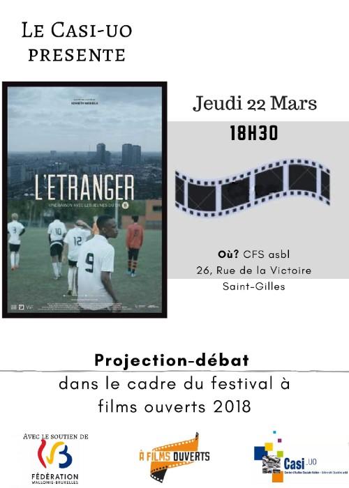 """Festival à Films Ouverts: """"l'Étranger"""""""