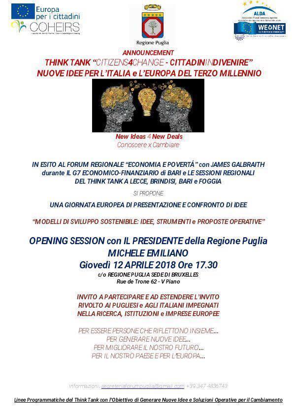 Nuove idee per l'Italia e l'Europa del terzo millennio