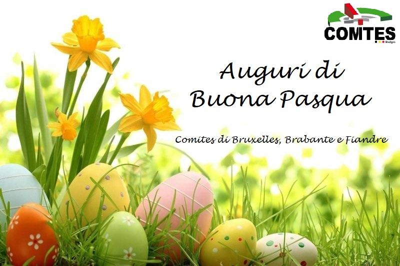 Buona Pasqua dal Comites Belgio