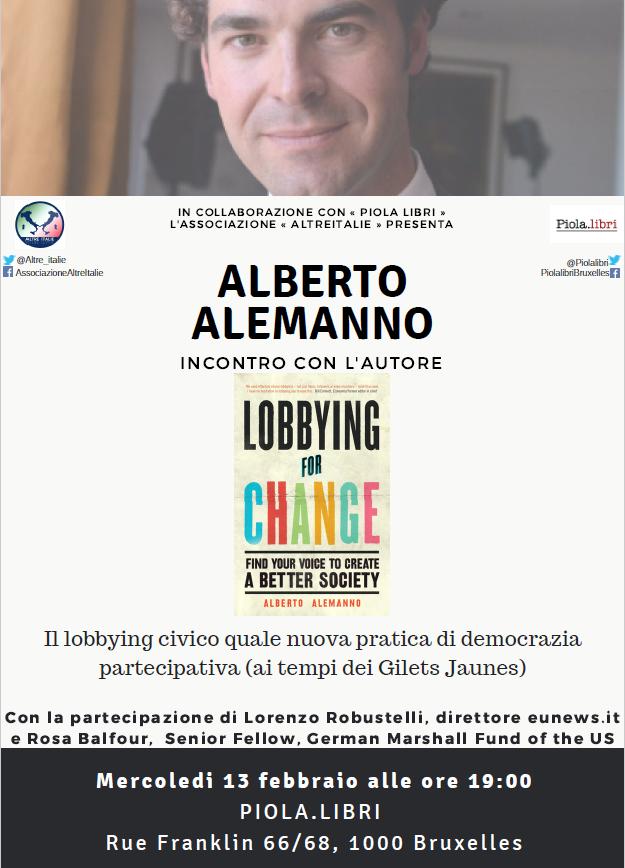 Alberto Alemanno – Incontro con l'autore
