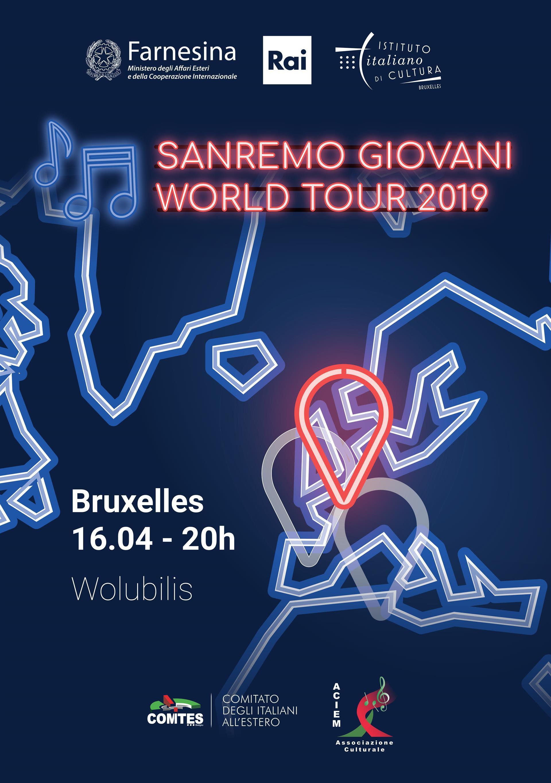 SANREMO GIOVANI WORLD TOUR 2019
