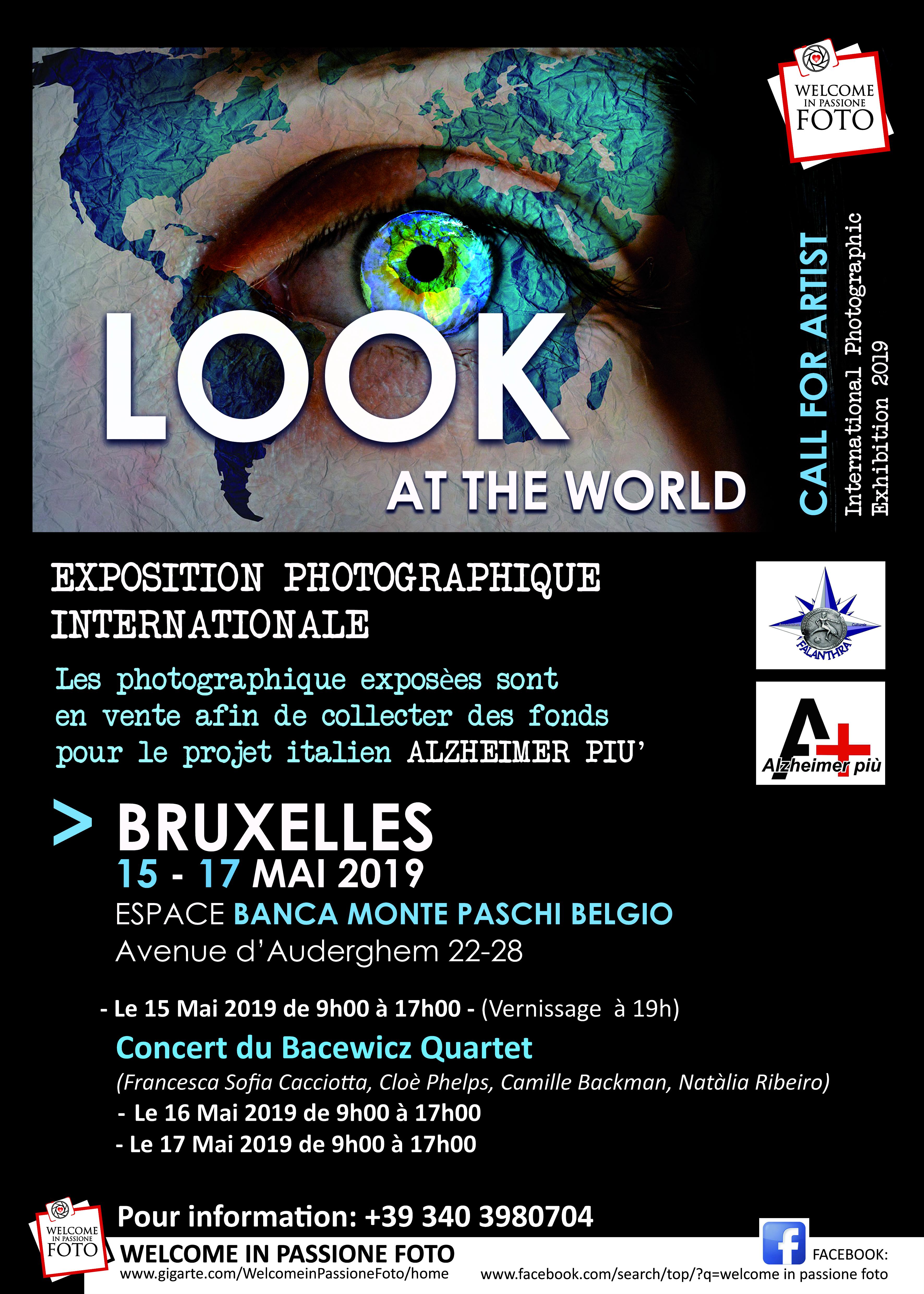 Esposizione fotografica internazionale / Inaugurazione 15 maggio 2019