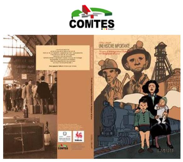 INVITATION / Présentation de la bande dessinée sur l'histoire de l'immigration italienne en Belgique / 12-12-2019