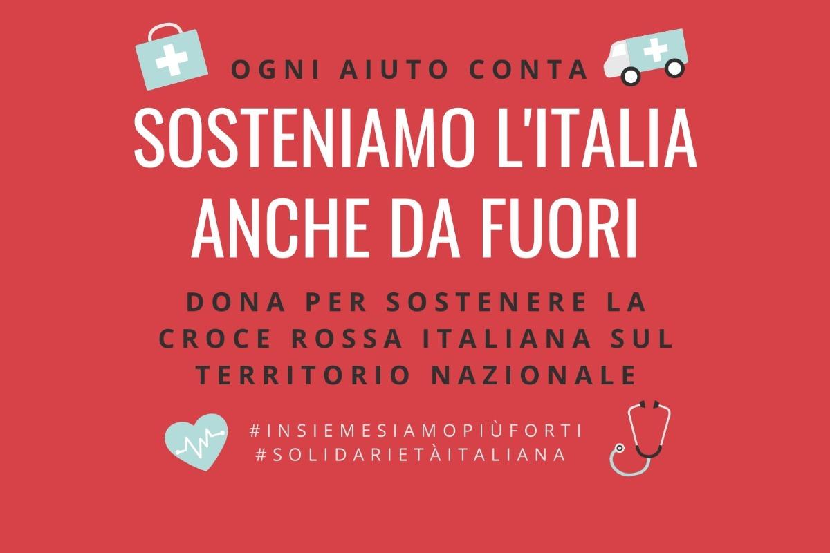 EMERGENZA COVID19 – SOSTENIAMO L'ITALIA & LA CRI