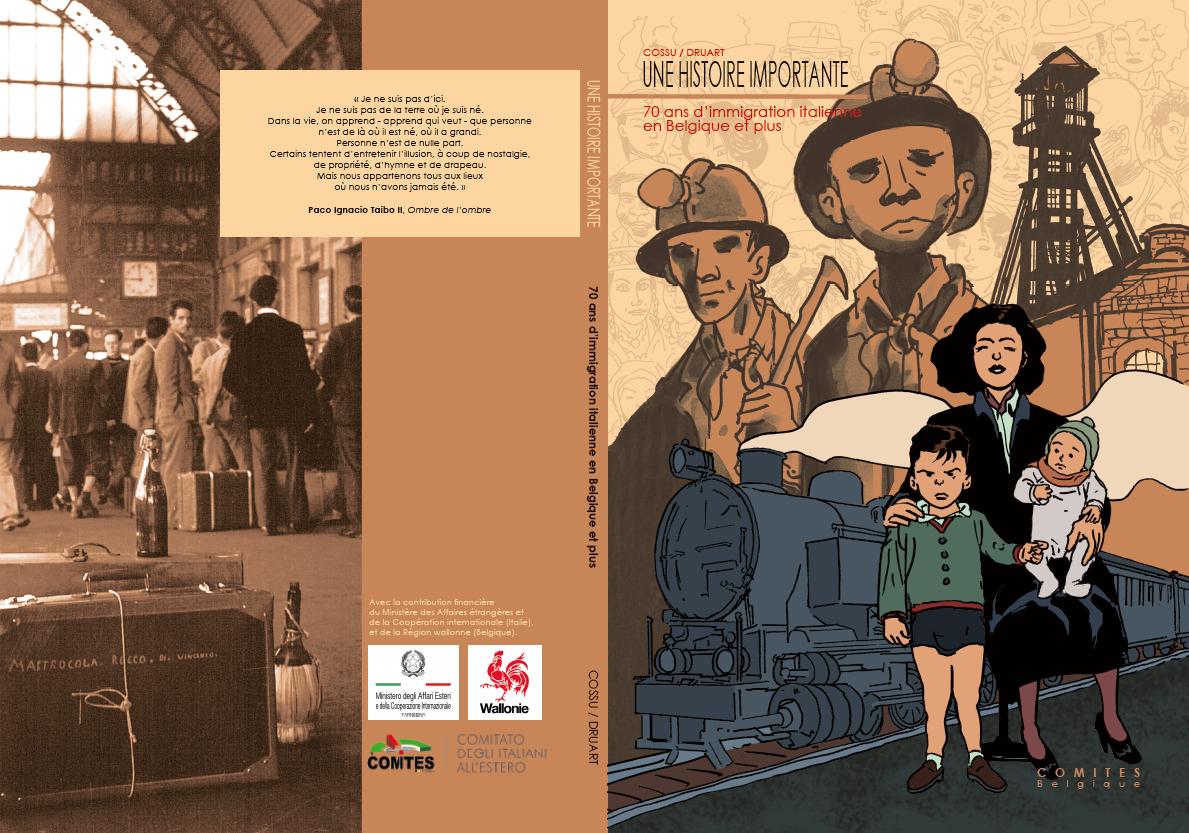 Présentation de la bande dessinée au Centre Culturel Escale du Nord d'Anderlecht
