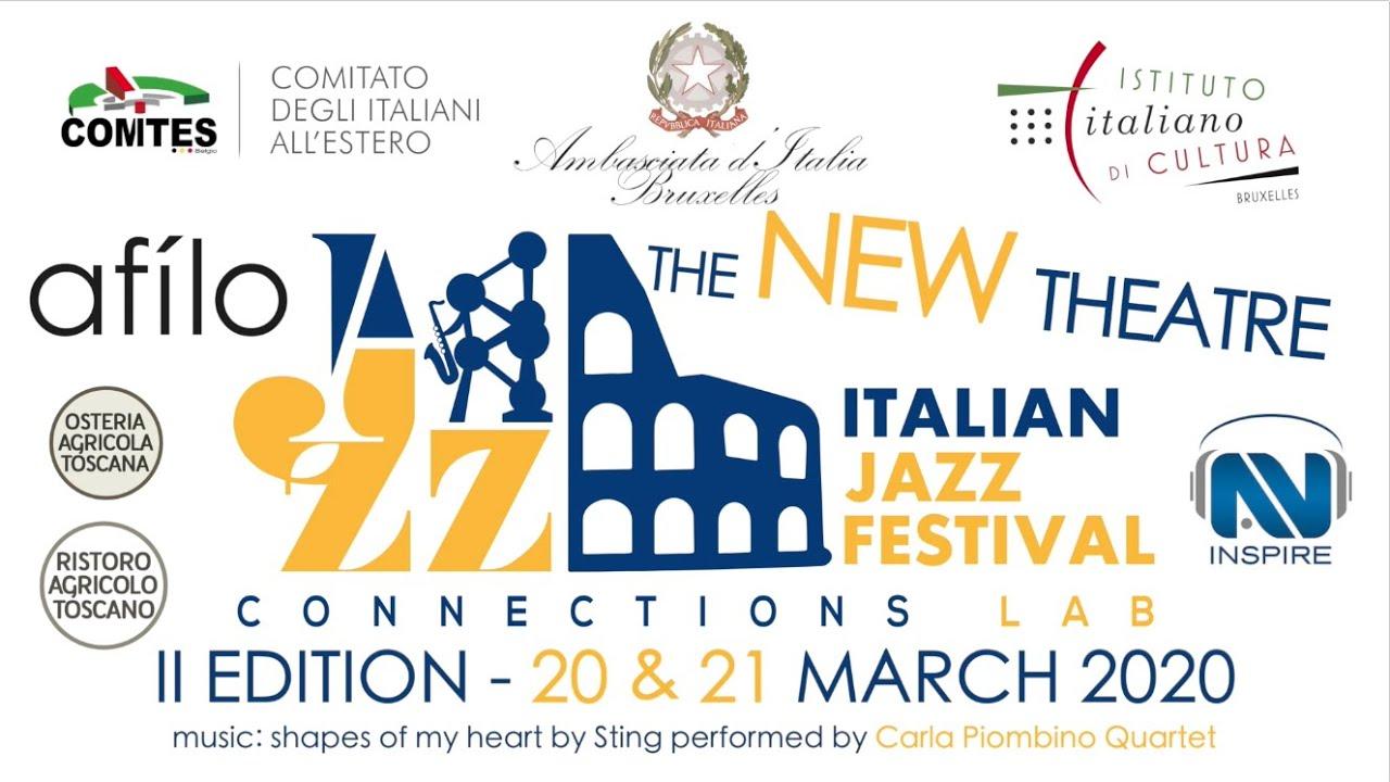 SECONDA EDIZIONE DELL'ITALIAN JAZZ FESTIVAL A BRUXELLES