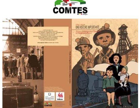 Il fumetto sulla storia dell'immigrazione italiana in Belgio distribuito nelle scuole di Mons
